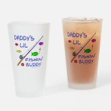 DADDY'S FISHIN' BUDDY Drinking Glass