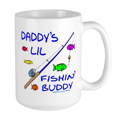 DADDY'S FISHIN' BUDDY Large Mug