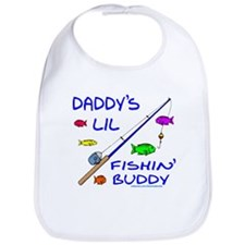 DADDY'S FISHIN' BUDDY Bib