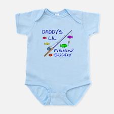 DADDY'S FISHIN' BUDDY Infant Bodysuit
