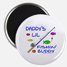 DADDY'S FISHIN' BUDDY Magnet