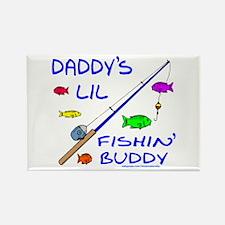 DADDY'S FISHIN' BUDDY Rectangle Magnet