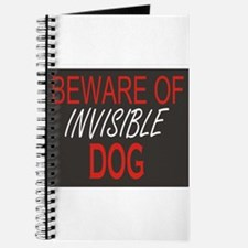 Beware of Invisible Dog Journal