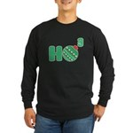 Ho Cubed White Long Sleeve Dark T-Shirt