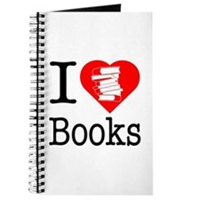 I Heart Books or I Love Books Journal