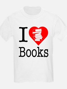 I Heart Books or I Love Books T-Shirt