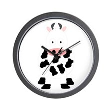 Cow Design Wall Clock
