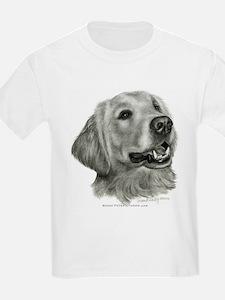 Golden Retriever Kids T-Shirt