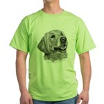 Golden Retriever Green T-Shirt