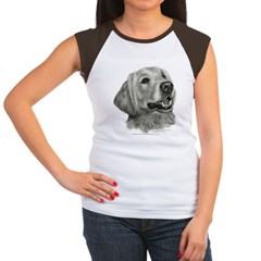 Golden Retriever Women's Cap Sleeve T-Shirt