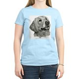 Golden retreiver art Women's Light T-Shirt