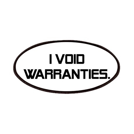 I Void Warranties Patches