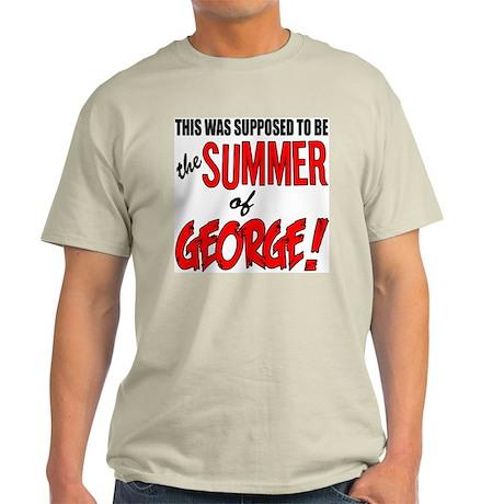 "Seinfeld ""Summer of George"" Ash Grey T-Shirt"
