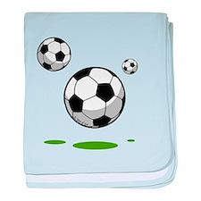 Soccer (8) baby blanket
