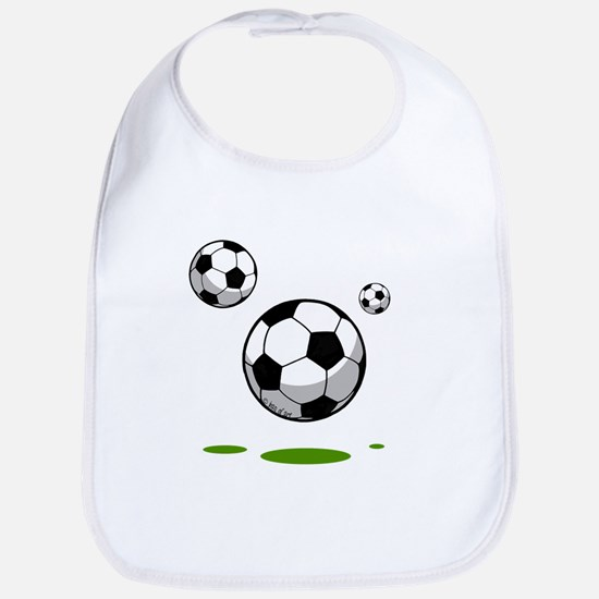 Soccer (8) Cotton Baby Bib