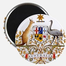 Australia Coat of Arms, coat of arms,flag, Magnets