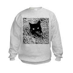Cat in the Grass Sweatshirt
