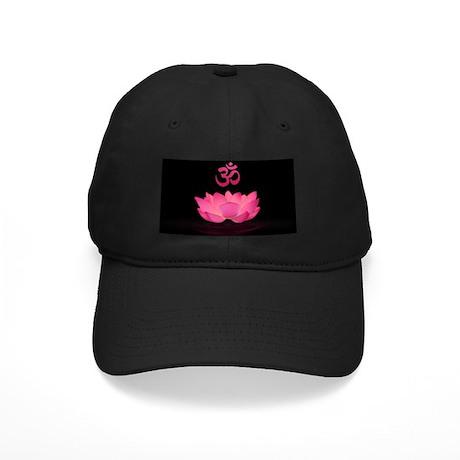 Pink Lotus Sutra Baseball Cap by OldSilkenIndia