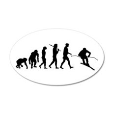 Downhill Skiing Wall Decal