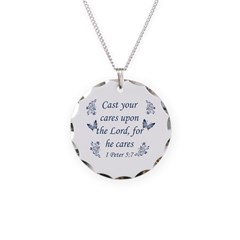 Inspirational bible quote designs Necklace
