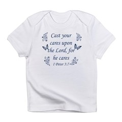Inspirational bible quote designs Infant T-Shirt