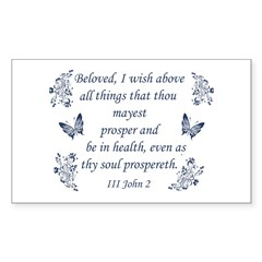 Inspirational Bible verses Decal