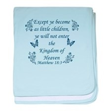 Inspirational Bible Quotes baby blanket