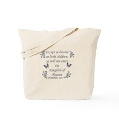 Inspirational Bible Quotes Tote Bag