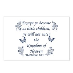 Inspirational Bible Quotes Postcards (Package of 8