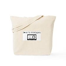 Cute Mixtape Tote Bag
