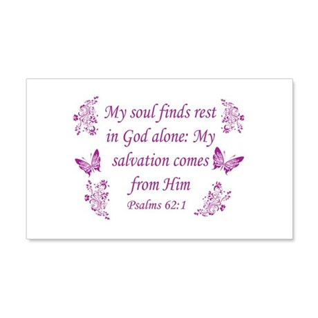 Inspirational Bible Quotes 22x14 Wall Peel