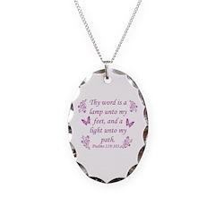 Inspirational Bible sayings Necklace
