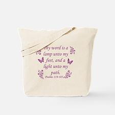 Inspirational Bible sayings Tote Bag