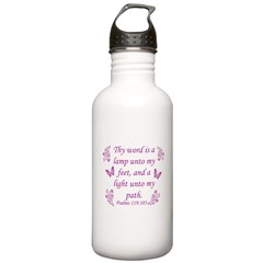 Inspirational Bible sayings Water Bottle