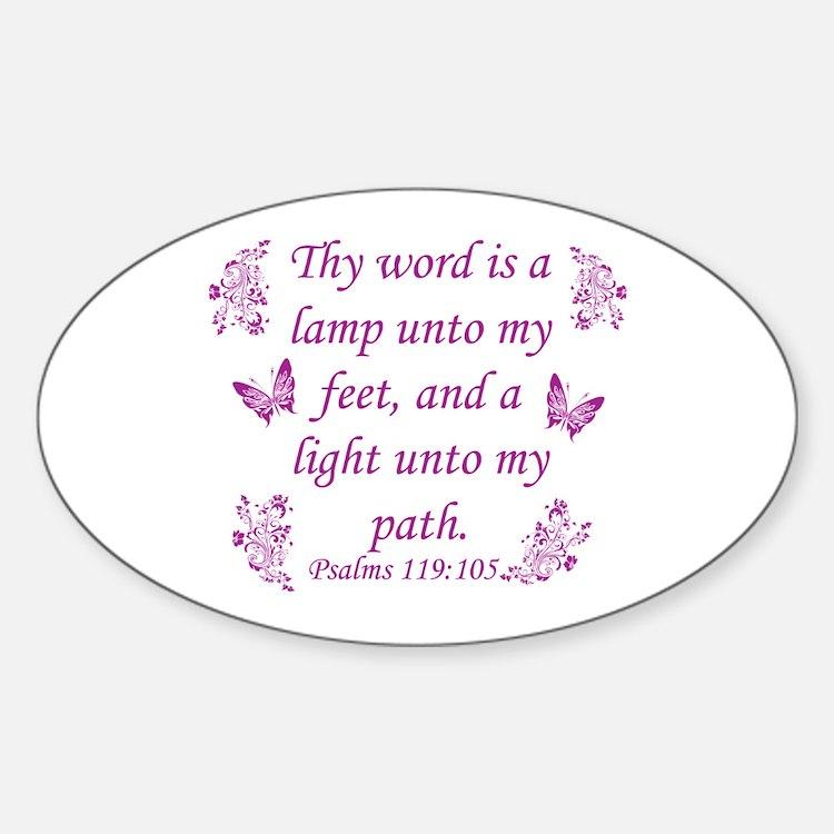Inspirational Bible sayings Decal