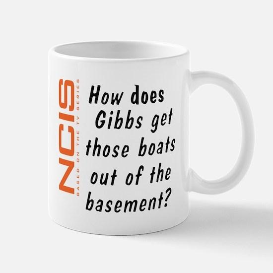 NCIS - Gibbs' Boats Mug