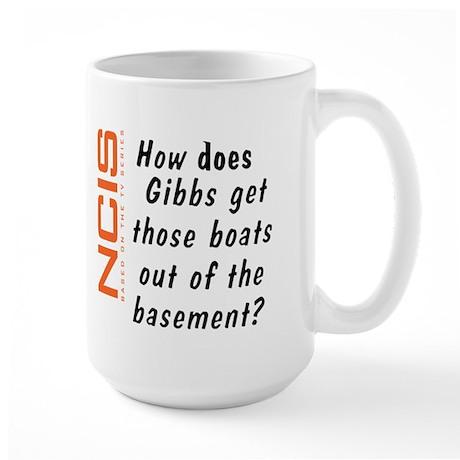 NCIS - Gibbs' Boats Large Mug