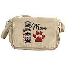 Scottish Deerhound Mom 2 Messenger Bag