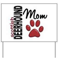 Scottish Deerhound Mom 2 Yard Sign