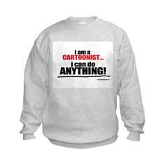 I am a cartoonist Sweatshirt
