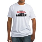 I am a cartoonist Fitted T-Shirt