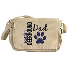 Scottish Deerhound Dad 2 Messenger Bag