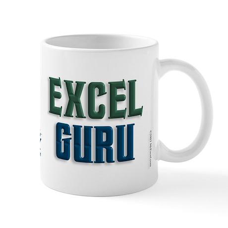Isnt it Obvious? Excel Guru Mug