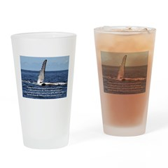 Move Mountains Drinking Glass