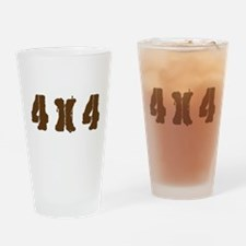 Off Road 4 x 4 Drinking Glass