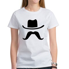 Hat & Mustache Women's T-Shirt