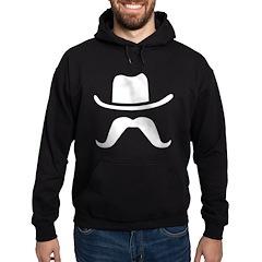 Hat & Mustache Hoodie