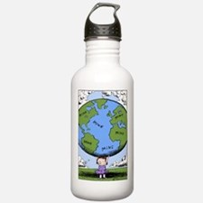 Cute Comic strip Water Bottle