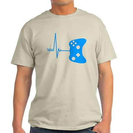 Gamers Heart Beat Light T-Shirt