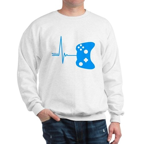Gamers Heart Beat Sweatshirt